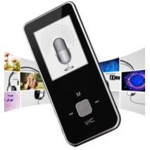 MP4-плеер ONN Q9 на 8Gb  черный Поддержка fm Радио
