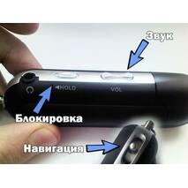 Компактный MP3 плеер память 8ГБ плеер черный с USB + карта памяти + кардридер+радио 4 в 1