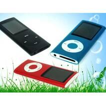 HiFi MP4-плеер MP4 1.8д черный в стиле iPod метал корпус Поддержка fm Радио TF карты MP4 видео