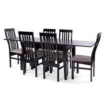 Деревянный стол Шахар и стулья Вест.