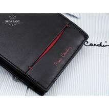 Стильный мужской кожаный бумажник Pierre Cardin