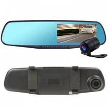 Відео реєстратор Дзеркало DV110 екрану 4,3 дюйми якість HD1080P ДВІ КАМЕРИ