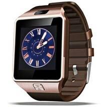 Смарт часы Smart Watch Phone DZ09s медные  с Sim картой! И камерой.