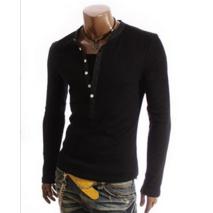 Мужской свитшот, свитер на пуговицах M, L, XL, XXL белый код 5