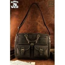 Мужская сумка, портфель  Always Wild из натуральной кожи