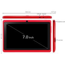 Планшет Q88 Экран 7 дюймов 512MB+4GB красный