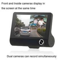 Универсальный видеорегистратор DVR T725 на 3 камеры 4.0 дюймовый IPS экран