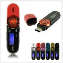 Спортивный MP3-плеер SSMP-01Q Чёрно-красный  на 8GB с клипсой!