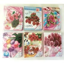 Фотоальбом на 200 фото, цветы