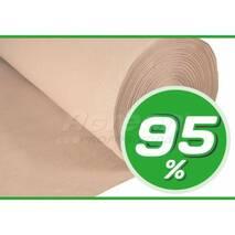Декоративная сетка 95% (4х50) бежевая