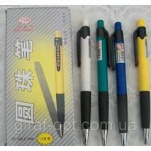 Ручка шариковая, автоматическая, цвет синий (НО-505)