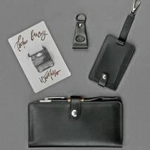 Набор кожаных аксессуаров для путешественника Берлин