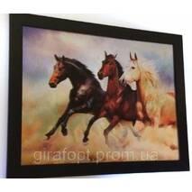 Картина трёхмерная Лошади