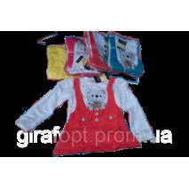 """Туніка для дівчинки """"Медвеженок"""" 3-6 років"""