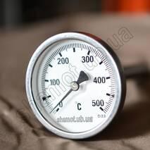 Биметаллический термометр для тандыра Бочка