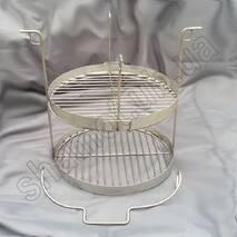 Решетка этажерка или двухъярусная сетка к тандыру Большой