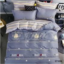 Двухспальное евро постельное белье  из ранфорса