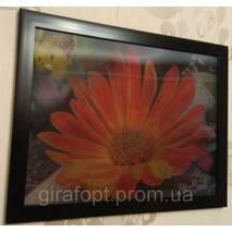 """Картина на стену трёхмерная с 3D объёмным эффектом """"Цветы"""""""
