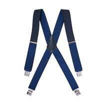 Чоловічі підтяжки Braces хрестові темно-синій   (BR1003)