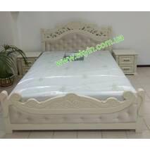 Ліжко Карена з тумбами з масиву ясеня