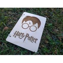 """Блокнот А5 з дерева """"Гаррі Поттера"""""""