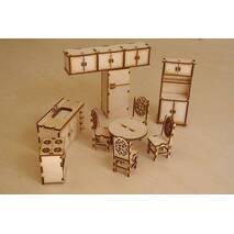 Лялькові меблі, набір -кухня