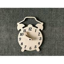 Часы-будильник заготівля для бизиборд з фанери.