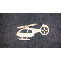 Вертоліт - заготівля з фанери для бизиборд