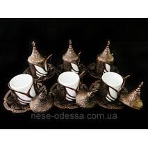 Турецкие чашки для кофе медь
