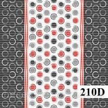 Коврики в рулонах Dekomarin 210 (размеры: 0.65м, 0.80м, 1.3м) 210D