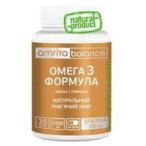 Омега-3 формула, 30 капс. по 1000 мг