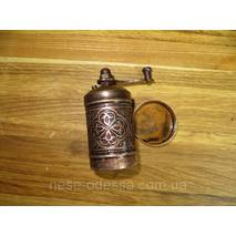 Мельница для специй и перца металлическая (Турция)