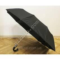 Чоловіча парасолька від дощу напівавтомат: 3 складання. Антивітер. Діаметр куполу 103 см.