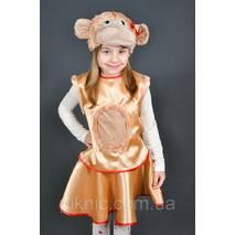 Детский костюм Обезьяна для девочки 4-7 лет Карнавальный костюм Обезьянка 342