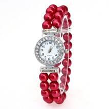 Часы ABF красные W024
