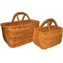 Набор сумок плетеных из лозы Корал из 2шт.