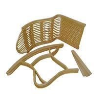 Кресло-качалка детская из лозы Корал (разборная)