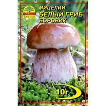 Міцелій білого гриба Боровика, 10 гр