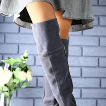 Женские сапоги - ботфорты зимние