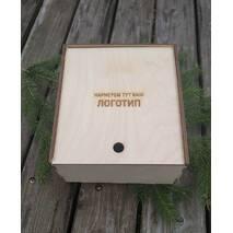 Подарочная шкатулка Пенал 2 (упаковка) из фанеры