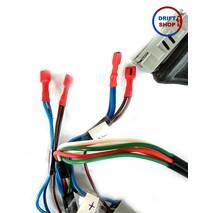 Проводка под двухконтурную бесконтактную систему зажигания (без ЭК и ЭПХХ)