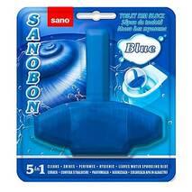 Блок для унитаза освежающий Sanobon Blue до 800 сливов 55 гр.
