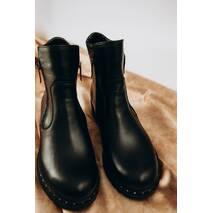 Женские зимние кожаные ботинки 40 (2440)