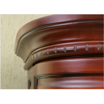 Радиусный шкаф Омега из дерева