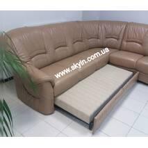 Скидка 10%! Модульный кожаный диван Мельбурн