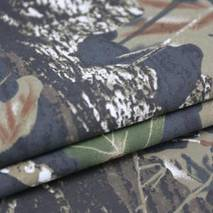 Тканина саржа браш принт (лісові дизайни)
