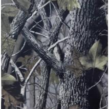 Ткань оксфорд 340D принт дубовый лес (135 г/м2, 100% полиэстер)
