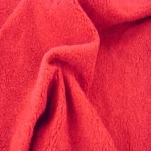 Ткань Флис антипилинг, красный