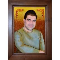 Бурштиновий портрет