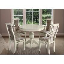 Раскладной стол Лео со стульями Марек 2